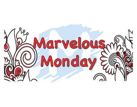 marvelous: Vector Illustration of the marvelous Monday Days of the Week