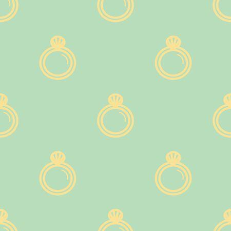 Wedding background seamless pattern in modern flat style. Banque d'images - 131963819