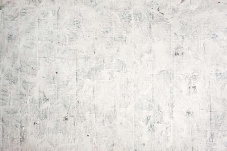 Schöner abstrakter Grunge dekorativer Stuckwandhintergrund. Kunst stilisierte Textur-Banner. Vintage-Gips-Textur. Grobe Striche. Graue Farbe. Standard-Bild