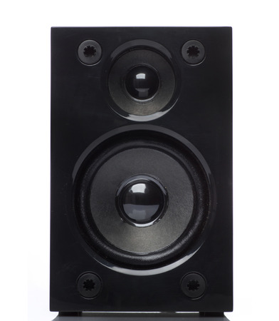 loud speaker: audio speakers Stock Photo