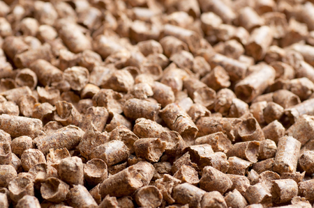 wood pellet: Wood pellet background pattern