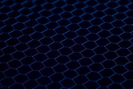 platinum: Black iron grid texture. Industrial background close up.