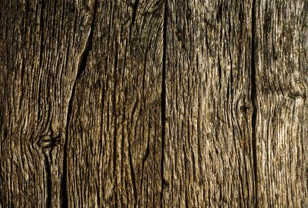 Wooden background. Texture with old rustic brown planks