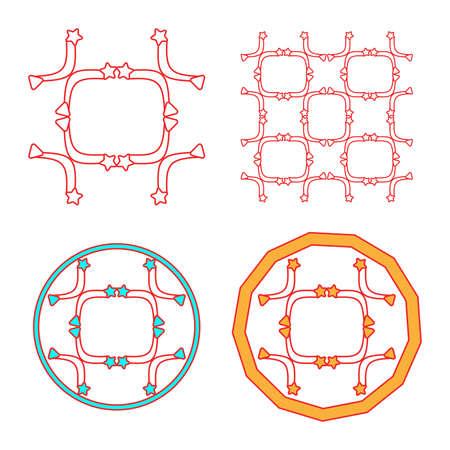 elegance: monogram and elegance simple design frame,vector Illustration EPS10
