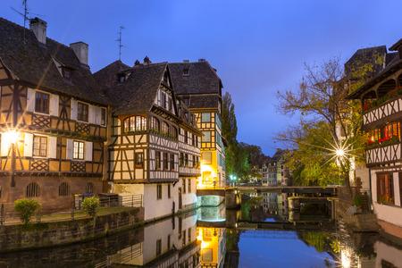 strasbourg: Strasbourg at Dusk,France
