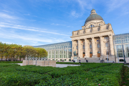 Bavarian state building,Munich,Germany Stock Photo