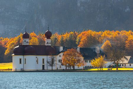 berchtesgaden: Berchtesgaden,Germany,Bavaria,Autumn