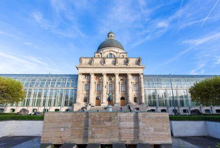 bavarian: Bavarian state building,Munich,Germany Stock Photo