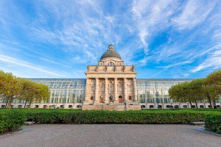 munich: Bavarian state building,Munich,Germany Stock Photo