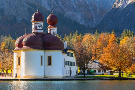 in bavaria: Berchtesgaden,Germany,Bavaria,Autumn
