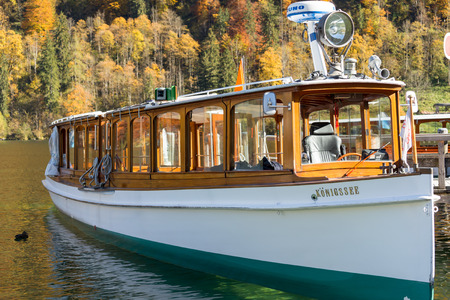 berchtesgaden: Boat at konigssee Berchtesgaden ,Germany