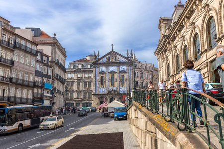 Central of porto cityscape , Portugal