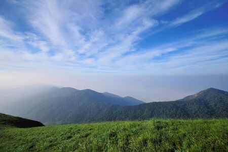 North of thailand moutain photo