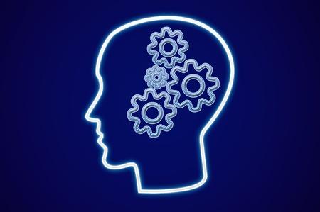 Human Intelligence brain photo
