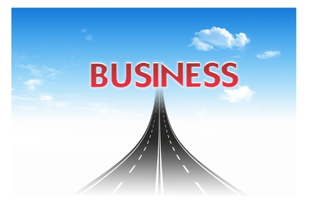 Road to the target for business concept Stock Photo - 10473460