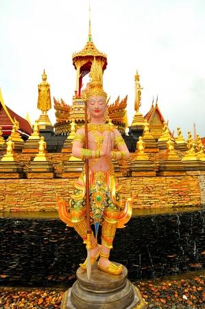 ramayana: Thailand Sculpture illustrating Ramayana