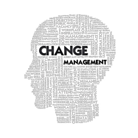 philosophy of logic: Word cloud business concept inside head shape, idea and creative Stock Photo