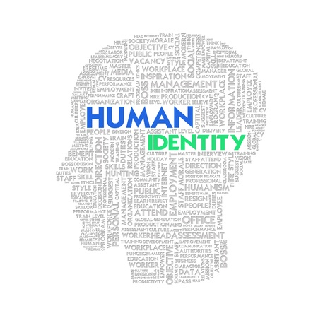 Word cloud business concept, human resource Stock Photo - 11568663