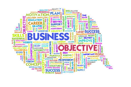 stakeholders: Business word inside speech bubble,Business concept Stock Photo