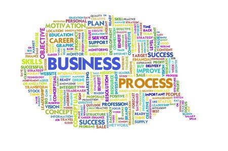 Business word inside speech bubble,Business concept photo