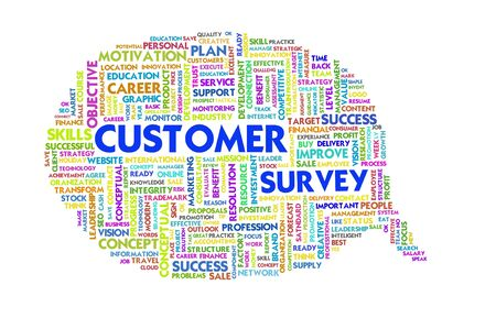 Business word inside speech bubble, customer service Stock Photo - 11568687
