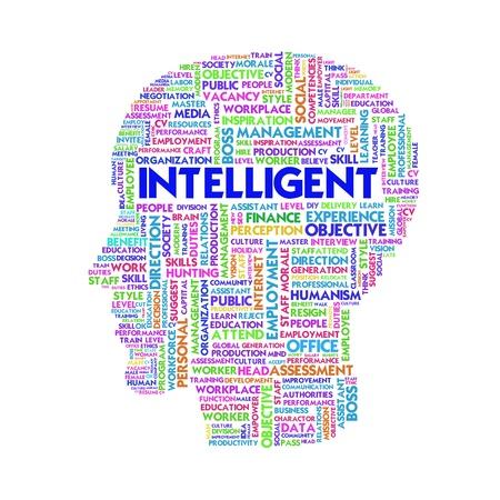 disciplina: Palabra nube concepto de negocio dentro de forma de la cabeza, aprender y la educaci�n Foto de archivo