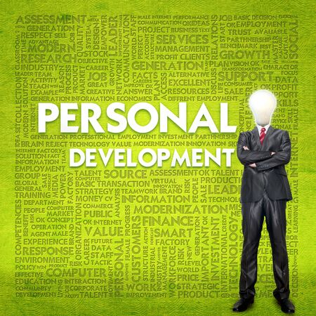 self development: Word cloud for business concept,human development