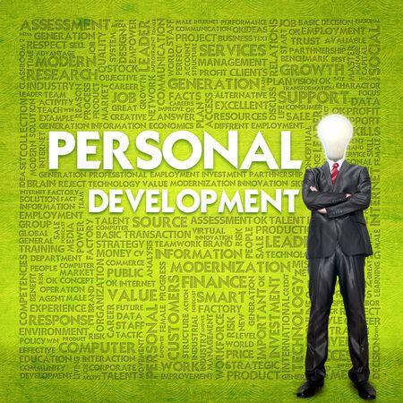 Word cloud for business concept,human development photo