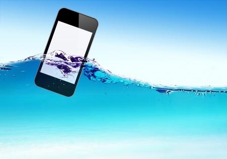wet: Flotadores móviles sobre ondas de agua