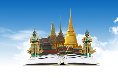 landscape architecture: Thailand bangkok travel concept