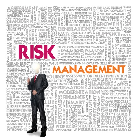 assessment: Business word cloud for business and finance concept, Risk Management