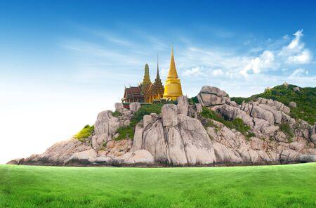 moutain: Thailand travel concept