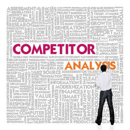 foda: Empresas nube de palabras para el concepto de negocio, análisis de competencia