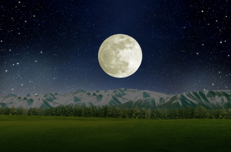 nightime: Super moon