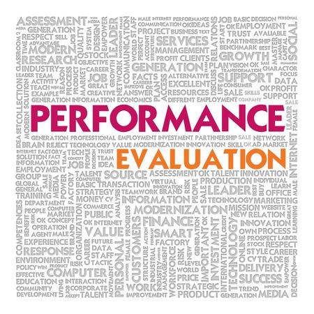 evaluacion: Empresas nube de palabras para el concepto de negocio, el desempeño
