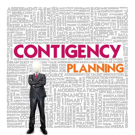 Business word cloud for business concept, Business continuity Stock Photo - 14107358
