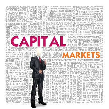 pooled: Business word cloud for business concept, Capital Markets