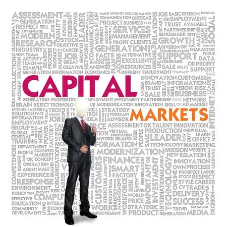 venture: Business word cloud for business concept, Capital Markets