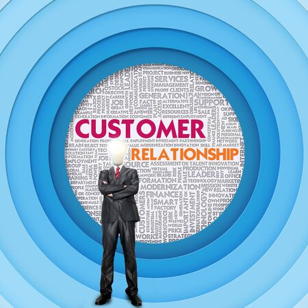 helpdesk: Business word cloud for business concept, Customer relationship