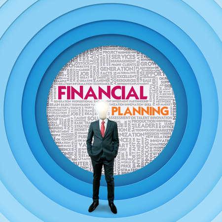 internal revenue service: Business word cloud for business concept, FInancial Concept Stock Photo