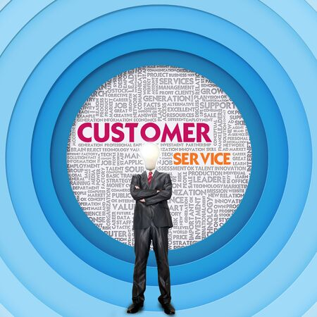 helpdesk: Business word cloud for business concept, Customer Service