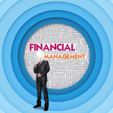 internal revenue service: Business word cloud for business concept, Financial Management Stock Photo