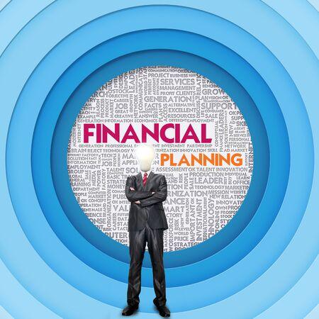 internal revenue service: Business word cloud for business concept, Financial Planning