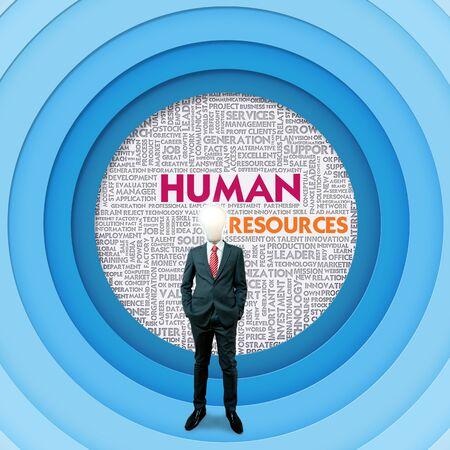 superacion personal: Negocios nube palabra para el concepto de negocio, Recursos Humanos