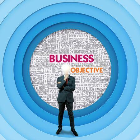 internal revenue service: Business word cloud for business concept, Business Objective