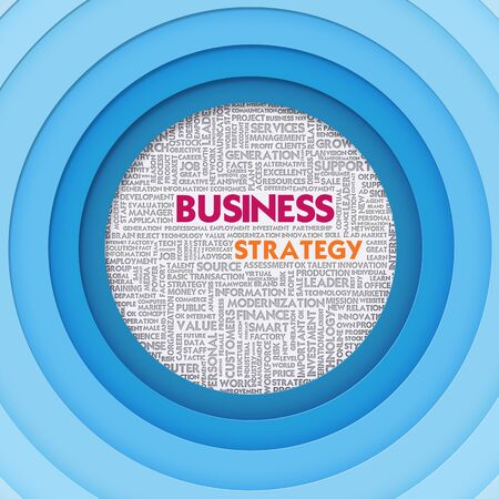 businessplan: Business word cloud for business concept, Business Strategy