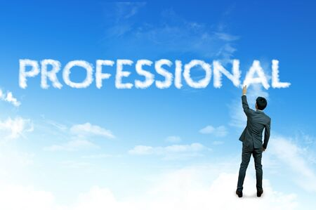 provide information: Cloud for business concept, Professional