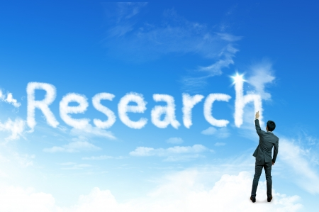 hypothesis: Cloud for business concept, Research