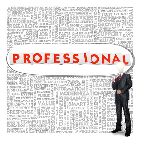 provide information: Business word cloud for business and finance concept, Professional