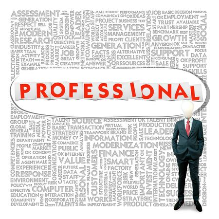 Business word cloud for business and finance concept, Professional photo
